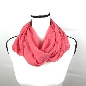 Tahiti peach infinity scarf